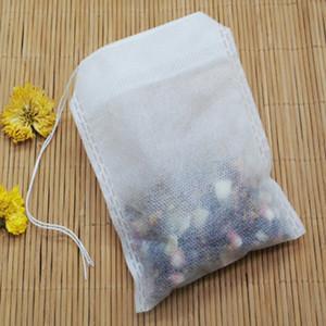 Çay Çanta 9 x 10 CM Food Grade Boş Çay Poşetleri demlik ile Dize Herb Gevşek Çay 1000pcs / Lot IIA411 için Mühür Filtre Heal
