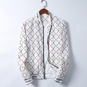 2020 Brand Designer Fashion Men's medusa Jacket Windbreaker Long Sleeve Men's Jacket Zipper Animal Letter Pattern Casual Men's DGF75