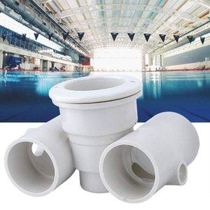Swimming Pool Spa Düsenset PVC Zubehör Massage-Düse Dichtungen Schraubengewinde Ring Ablassschrauben Massage Pool-Zubehör
