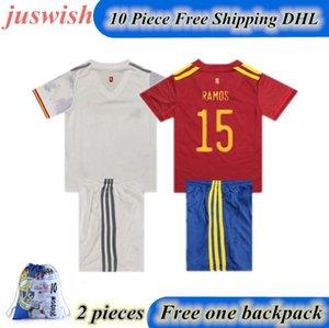 2020 2021 Spain Soccer Jersey Camiseta España ASENSIO MORATA ISCO INIESTA PACO ALCACER THIAGO Football Adult man and kids kit shirts