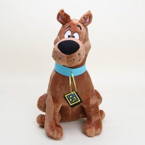 20170710 Hot 13 `` Soft Plush Cute Scooby Doo Dog Dolls Scooby Soft Stuffed Toy para niños Nuevos regalos de Navidad Envío gratis