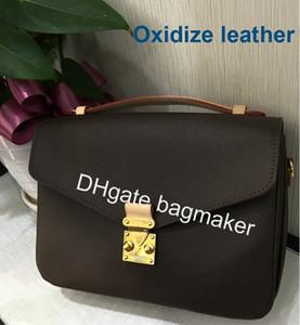 Altamente recomendado 5 A Frete grátis alta qualidade genuína bolsa de couro das mulheres pochette Metis sacos de ombro sacos crossbody M40780 40780