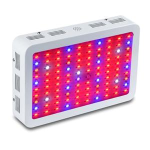 DHL Doppel Chip 300W 600W 800W 1000W 1200W 1500W 1800W 2000W LED wachsen Licht Full Spectrum Rot / Blau / UV / IR für Zimmerpflanzen