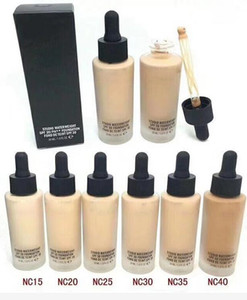 Buona qualità del marchio Viso Waterweight SPF 30 Foundation Fond de Teint 30ML Liquid Foundation 6 colori
