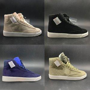 Neue Marke Weiß X Wmns Blazer Mid Rebel Xx Laufschuhe der Frauen der Männer Weiß Mode-Designer-Schuhe Outdoor Sports Turnschuhe