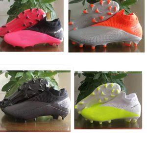 haute original cheville de football Bottes sport Phantom Elite VSN DF FG Chaussures de soccer x J x PSG Phantom Vision FG Outdoor Chaussure de foot