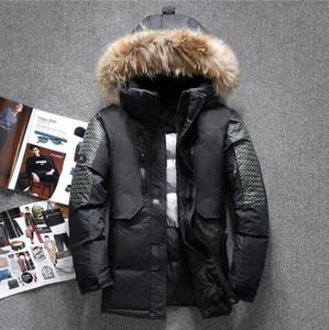 Vente en gros Mode Nouveau extérieur hiver Grand collier de laine épaississement Men Down Jacket Loisirs Marque North Down Jacket visage de Coat Men 1798