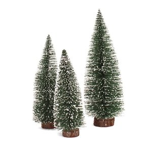 YEDUO Mini Christmas Pine Tree Christmas Decoration Ornament