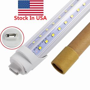 En forma de V R17D Tubos LED 45W 65W 8 pies T8 luces LED tubo de la lámpara Rotating r17d 8 pies LED tubo fluorescente Lámpara AC 85-265V