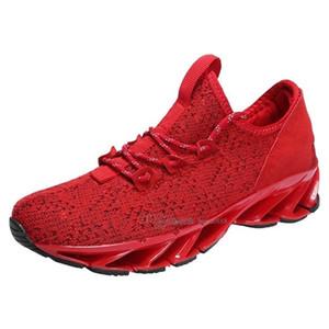 Homens de alta qualidade barato Fashion Shoes malha respirável Sneakers Passeio masculino do Calçado de Nova leve e confortável Running Shoes Ae-200303182