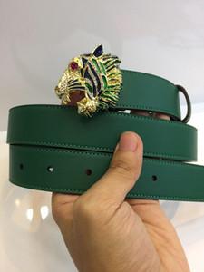 Green Tiger Ceintures Pour Hommes et femmes Hot Top qualité réelle en cuir hommes 3 cm ceinture designer style européen marque ceinture pour homme d'affaires avec boîte