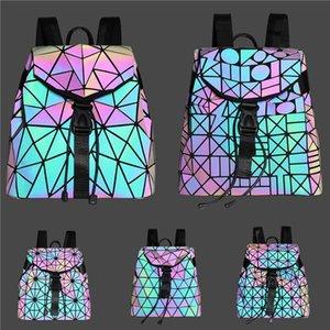 Patent Impressão clássico Designer de couro de luxo Backpack Shell Package Designer Bag destacável Alça Laser Bag # 819