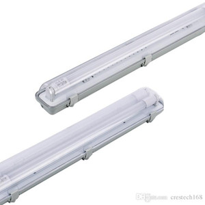 상업적인 옥외 통합 Hardwired4 피트. 단단한 물 저항하는 반대로 안개로 덮이는 LED 정착물 IP54T8led 관 지원을 증발하십시오