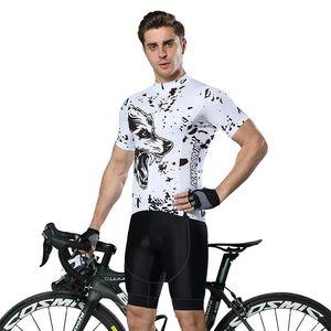 자전거 통일 자전거 용 의복 팀 자전거 저지 통기성 짧은 소매 정장 야외 스포츠 클래식 자전거 흡습성 탄성