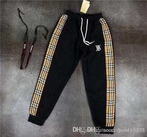 2019 nova moda de luxo homens jaqueta sportswear terno de beisebol e mulheres esportes casal zipper calças dos homens BBR senhoras terno esportivo de luxo pa
