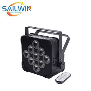 Vente chaude 9x10W 4in1 LED Par RGBW LED alimenté par batterie sans fil Par lumière
