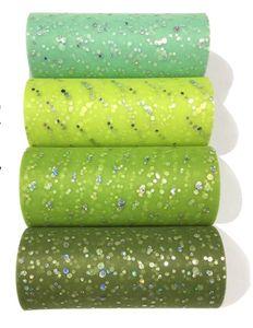 Hot Glitter Accueil Sequin Tulle Rouleau 15cm 25 verges 22m Rouleau Tissu Spool Tutu Emballages cadeaux baby shower de mariage DIY Décoration de fête d'anniversaire
