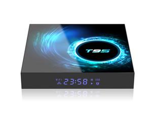 T95 Android 10 TV Box Allwinner H616 Quad Core 2.4G 5G Wifi Bluetooth5.0 4K 2GB 16GB 4GB 32GB 64GB