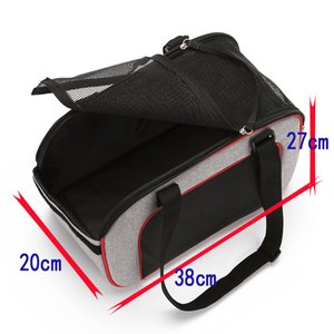 High Quality Pet Carrier Dog Cat Backpack Portable Travel Bag Foldable Totes Front Bag Mesh Head Out With Slings Shoulder Outdoor Supplies