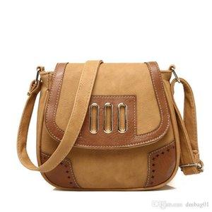 Pop2019 8 couleurs choisir designer coréen carré sacs à bandoulière en cuir pour femmes Messenger Messenger Partysu rétro sac à bandoulière