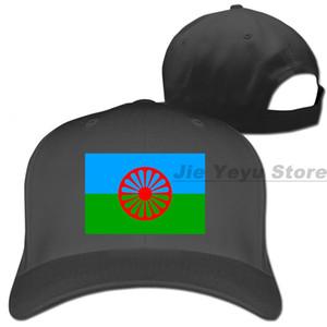 Zigeuner-Flagge Baseballmütze Männer Frauen Kappen Mode verstellbare Kappe
