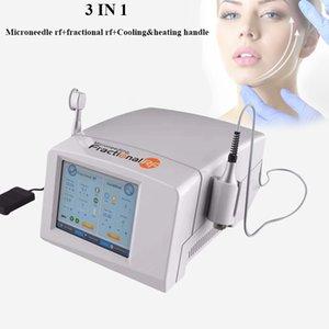 Élimination Best micro aiguilleteuses traitement peau fractionnel RF Thermage acné avec un marteau de refroidissement deux poignées livraison gratuite