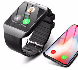 DZ09 1.54inch TFT / LCD Micro SIM-карты Большого экран Спорт шагомер престарелые Дети Музыка Talking телефон Смарт Часы Android GT08 U8 A1 Часы