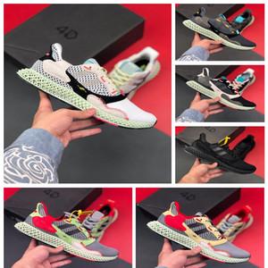 adidas ZX4000 4D New Consortium ZX 4000 FutureCraft 4D Chaussures de course pour hommes Hommes BD7931 zx4000 Designer Entraîneur sportif Chaussures de sport Chaussures Zapatillas