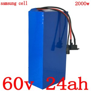 60V 1500W 2000W 2500W 3000W lithium battery 24AH electric scooter 25AH bicycle use samsung cell