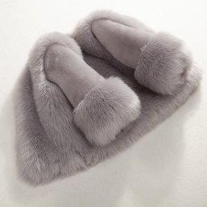 Dollplus Winter Girls Шуба Элегантный Baby Girl искусственного меха куртки и пальто толстый теплый Parka Дети Boutique ClothesMX190916