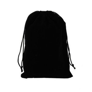 Schwarz Flanell Schmuck Paket Absackung Umweltschutz Seil Harness Flannelette Tasche Wenwan Weihnachtsgeschenk Paket Absackung