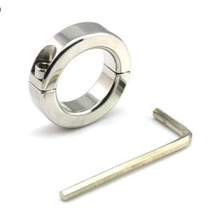 Nuevo anillo de castidad Metel Cock Ring Anillos de pene para artesanía de castidad Dispositivo de castidad masculino metal Fetish