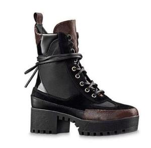 concepteur femmes bottes Martin mode flamants roses Amour flèche médaille cuir véritable 100% gros Desert Boot hiver chaussures femme de luxe en cuir