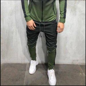 3D Gradient Mens Designer Tracksuits Hip Hop Men's Sports Pants Mens Athletic Sweatshirts Striped Pencil Pants For Sale