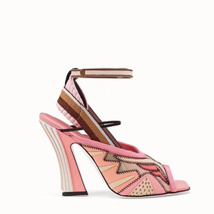 Com Box saco 2018 sandálias New Rihanna Fenty Leadcat Cor da pele do falso Borgonha sandálias de slides das senhoras Indoor Sandálias rosa roxo