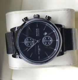 Секундомер Мужские часы Роскошные часы с календарем Мужские женские нержавеющие кварцевые наручные часы Роскошные часы Лучший бренд Relogies для мужчин Relojes