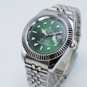 En vente 36 / 40mm hommes date jour ouvrable mens de luxe à quartz en acier inoxydable robe montre design dropshipping cadeaux de montres-bracelets pour hommes