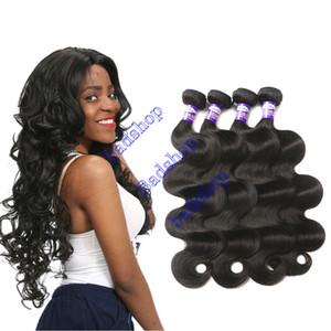 الصف 9A العذراء البرازيلي شعر الجسم موجة حزم 100G حزم الرطب ومتموجة الشعر البرازيلي الشعر المنتج