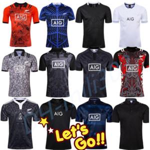 Adulto Novo 2020 2021 Rugby jersey Casa longe de rugby FIJI camisa aniversário de 100 anos Edição Comemorativa 2019 2020 2021 Rugby Camisa uniforme