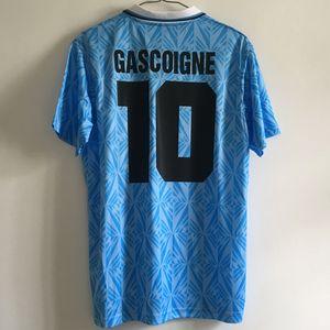 1989990 RETRO VINTAGE CLASSIO 1991 STAR GASCOIGNE soccer jersey camisa football shirt kit camiseta 89 90 futbol maillot de foot