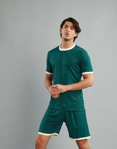 Подгонянные трикотажные изделия футбола с шортами обучение Джерси пользовательские команды Джерси и шорты yakuda футбольной формы обучения фитнес-упражнения наборы