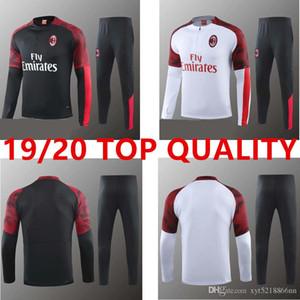 2019 AC Milan tracksuit survetement jacket set 19 20 training suit CALHANOGLU long sleeve soccer jacket sportswear tracksuit