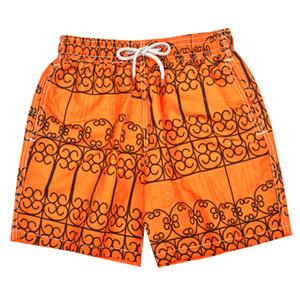 Оранжевый Vile Марка Черепаха Печатные мужские пляжные шорты для досок Бермуды Мужские купальники Шорты для досок Quick Dry спортивные боксерские шорты Шорты Купальники