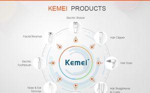 Kemei KM-1015 5 en 1 recargable Trimmer pelo multifunción máquina de afeitar eléctrica barbero xQYOt kit de herramientas