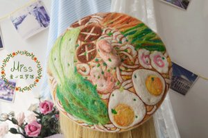Original manual Hand-Pulled Princess sweet lolita beret Noodle stereo shrimp mushroom cap Clay oven rolls cute Beret forest