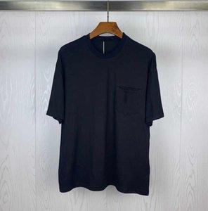 moda Tişörtlü yarım kollu pamuklu popüler logosunun erkek giyim kısa kollu 5 renk ile eğilim erkek gömlek merserize