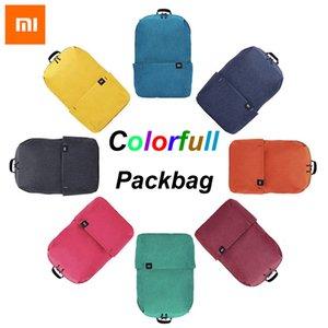 Original Xiaomi Bag Mi Backpack 10L Bag 8 Colors 165g Urban Leisure Sports Chest Pack Bags Men Women Small Size Shoulder Unise