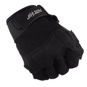 Women Army fan half finger gloves Male tactical combat outdoor sport mountaineering riding gloves Men tight Non-slip Wear Mitten