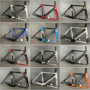 12 top couleur UD vente T1100 Colnago C64 cadres de route de carbone Concept C60 avec 48 Frameset 50 52 54 56cm Livraison gratuite