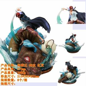 One Piece Hand zu tun One Piece GK Vier Kaiser Resonance Ultra Large GK Red Hair Shanks Figuren Wasser König Puppe Ornamente